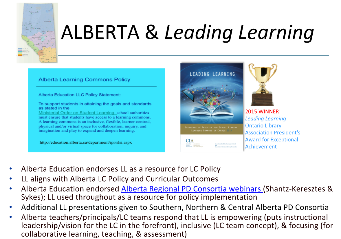 Alberta & Leading Learning