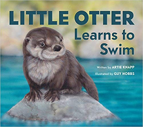Little Otter Learns to Swim