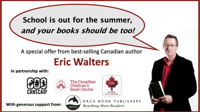 Eric Walters Summer Reading