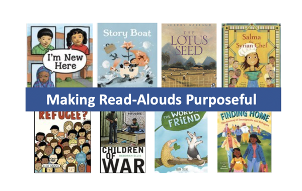 Making Read-Alouds Purposeful – Canadian School Libraries Journal